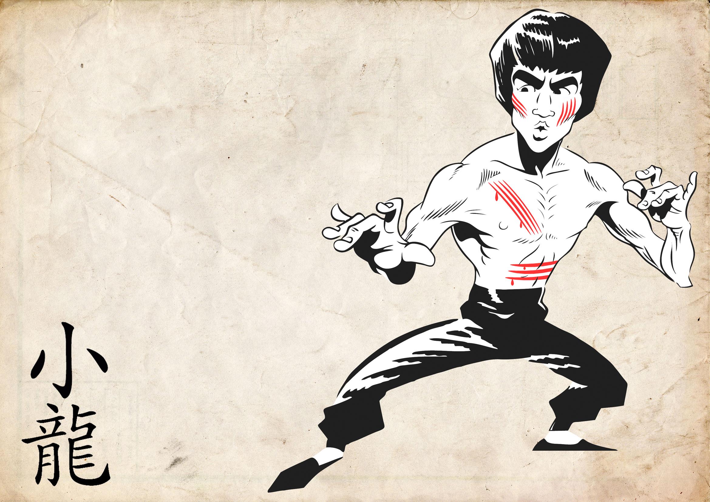Bruce Lee Wallpapers HD cartoon