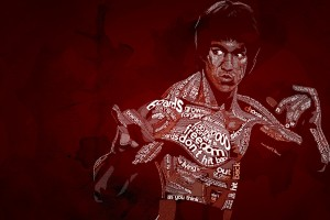Bruce Lee Wallpapers HD maroon background