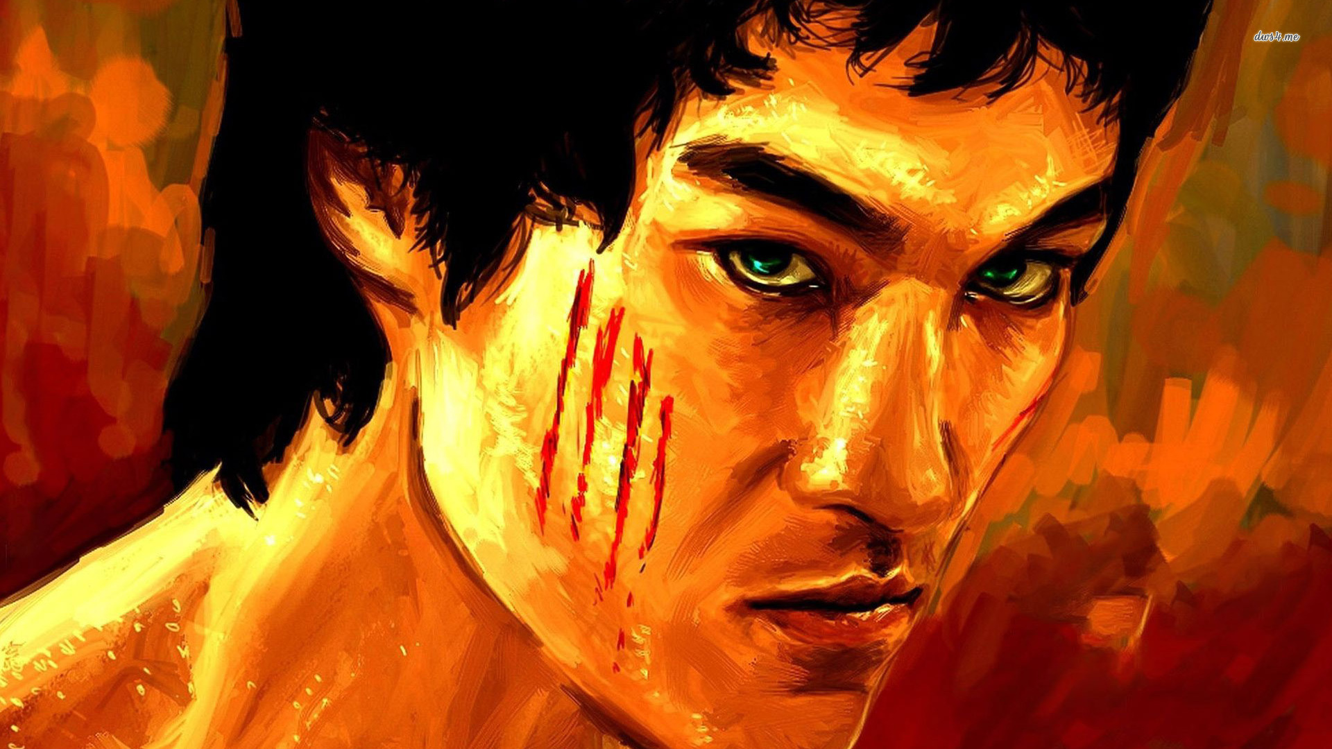 Bruce Lee Wallpapers HD angry