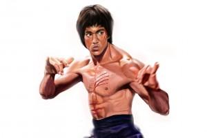 Bruce Lee Wallpapers HD paintings