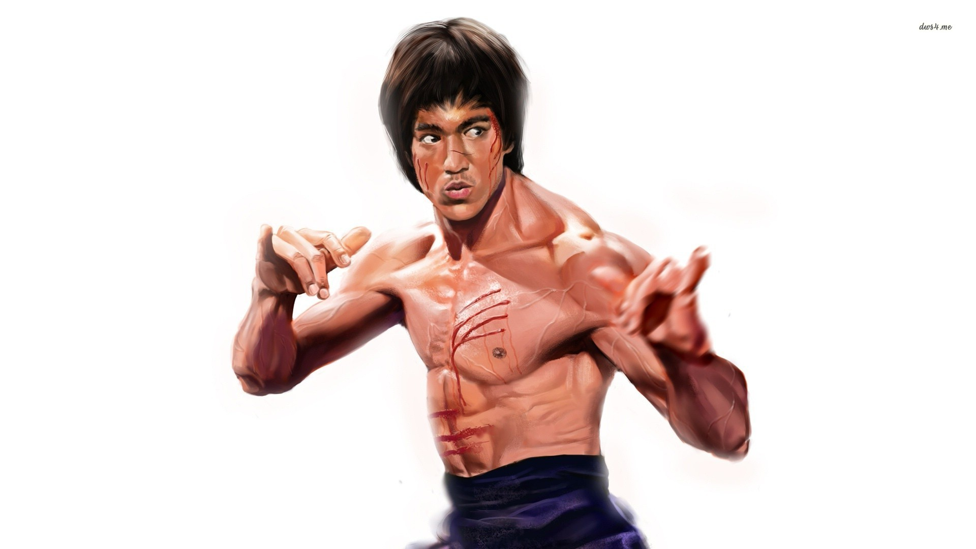 Bruce Lee Wallpapers HD paintings