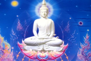 Buddha Wallpaper pictures HD blue background