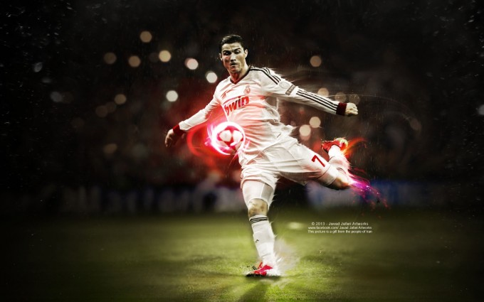 Cristiano Ronaldo Wallpapers HD football kick