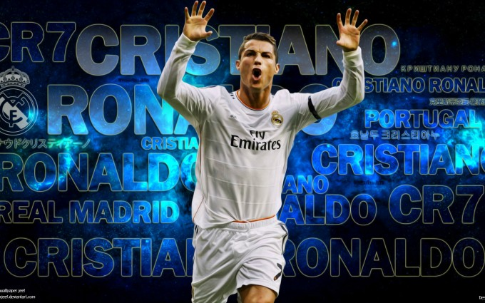 Cristiano Ronaldo Wallpapers HD blue background