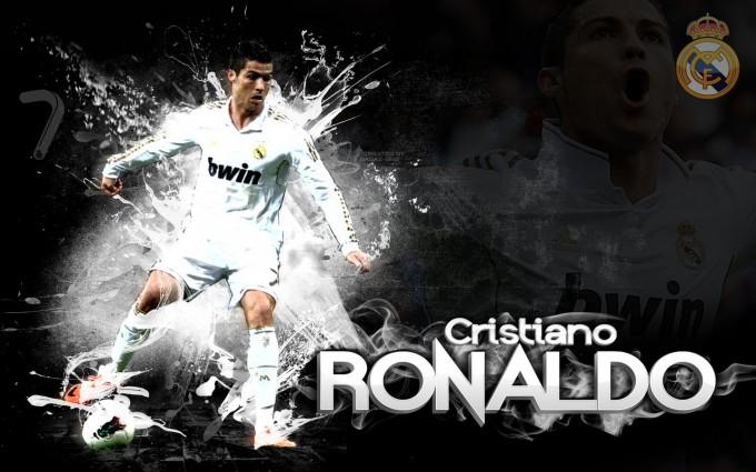 Cristiano Ronaldo Wallpapers HD white shirt