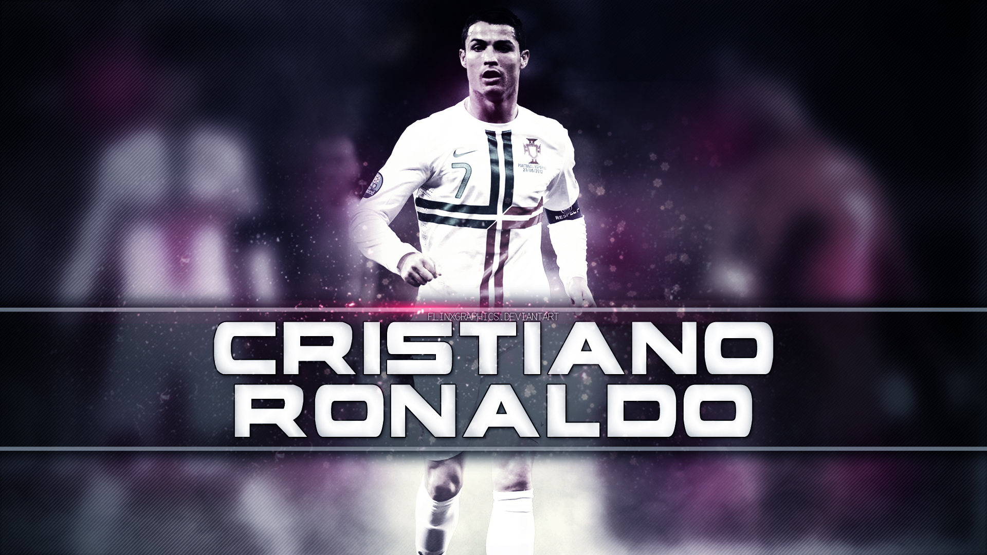 Cristiano Ronaldo Wallpapers HD purple background