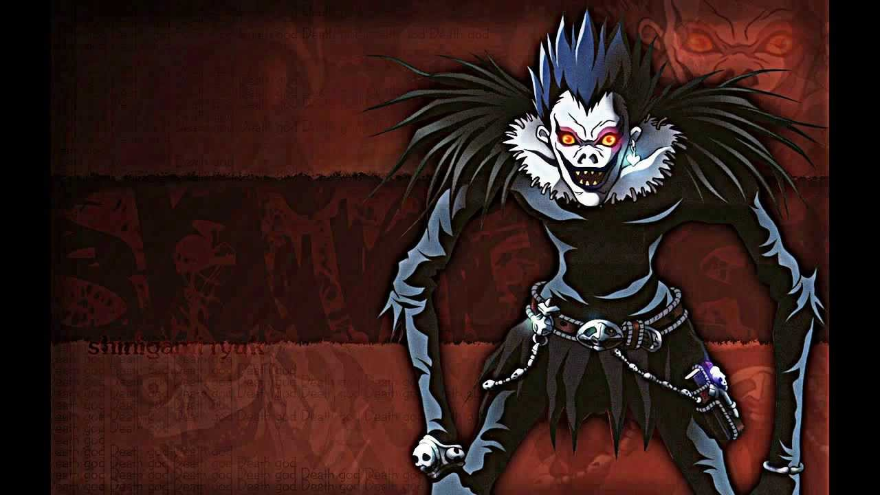 Death Note Wallpapers red background