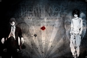 Death Note Wallpapers angel and devil