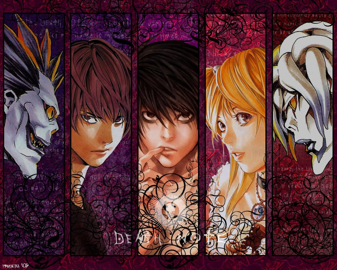 Death Note Wallpapers kira ryuk