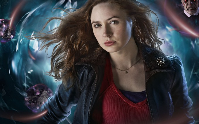 Karen Gillan Doctor who wallpapers HD A20 - Dr Who Wallpapers | Doctor who backgrounds | doctor who tardis wallpapers | Doctor who desktop wallpapers | doctor who phone wallpapers.