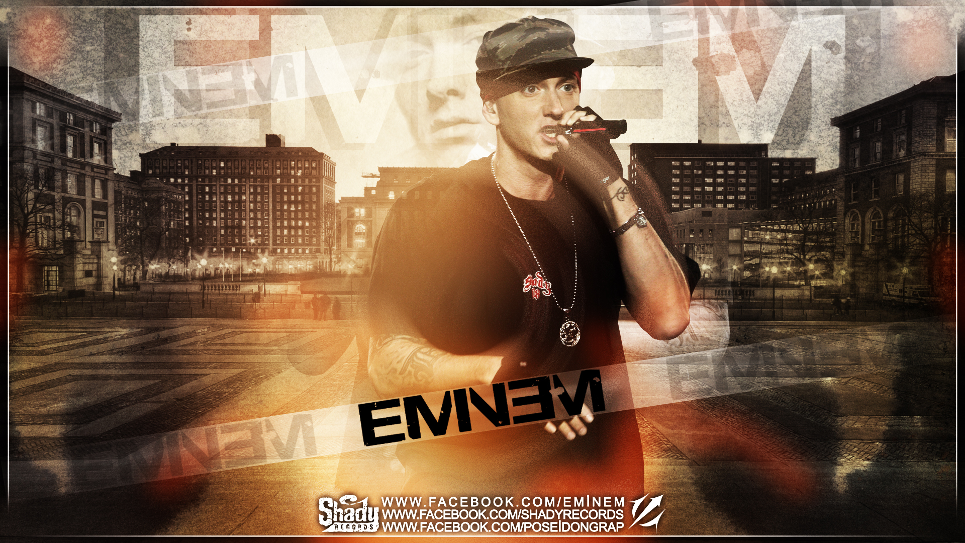 Eminem Wallpapers HD poster