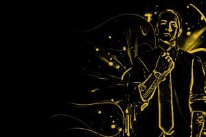 Eminem Wallpapers HD yellow sketch
