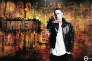 Eminem Wallpapers HD yellow faded background