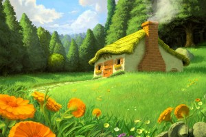 Forest Wallpapers HD fantasy hut house