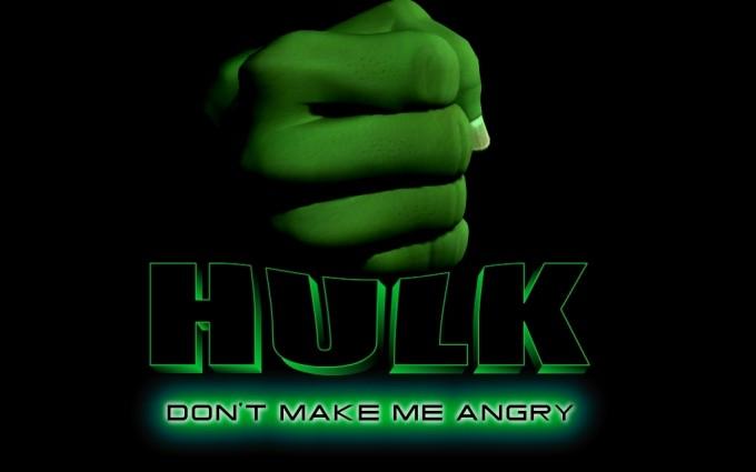 Hulk Wallpaper fonts