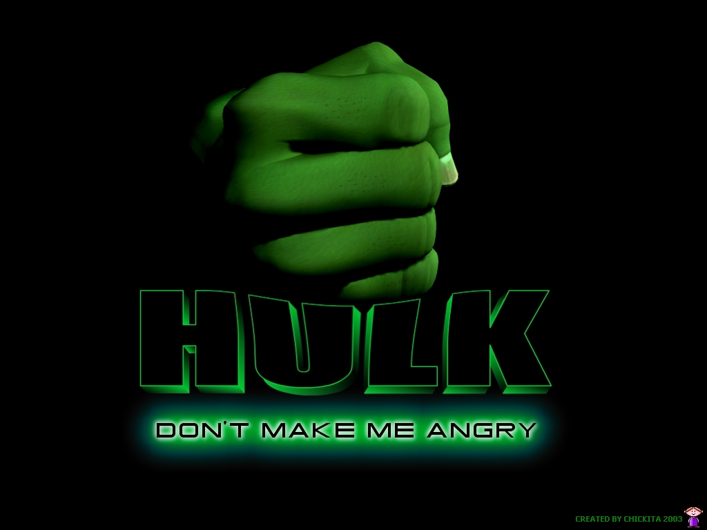 Hulk Wallpaper fonts