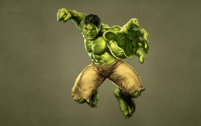 Hulk Wallpaper punch