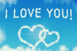 I Love You Wallpapers clouds