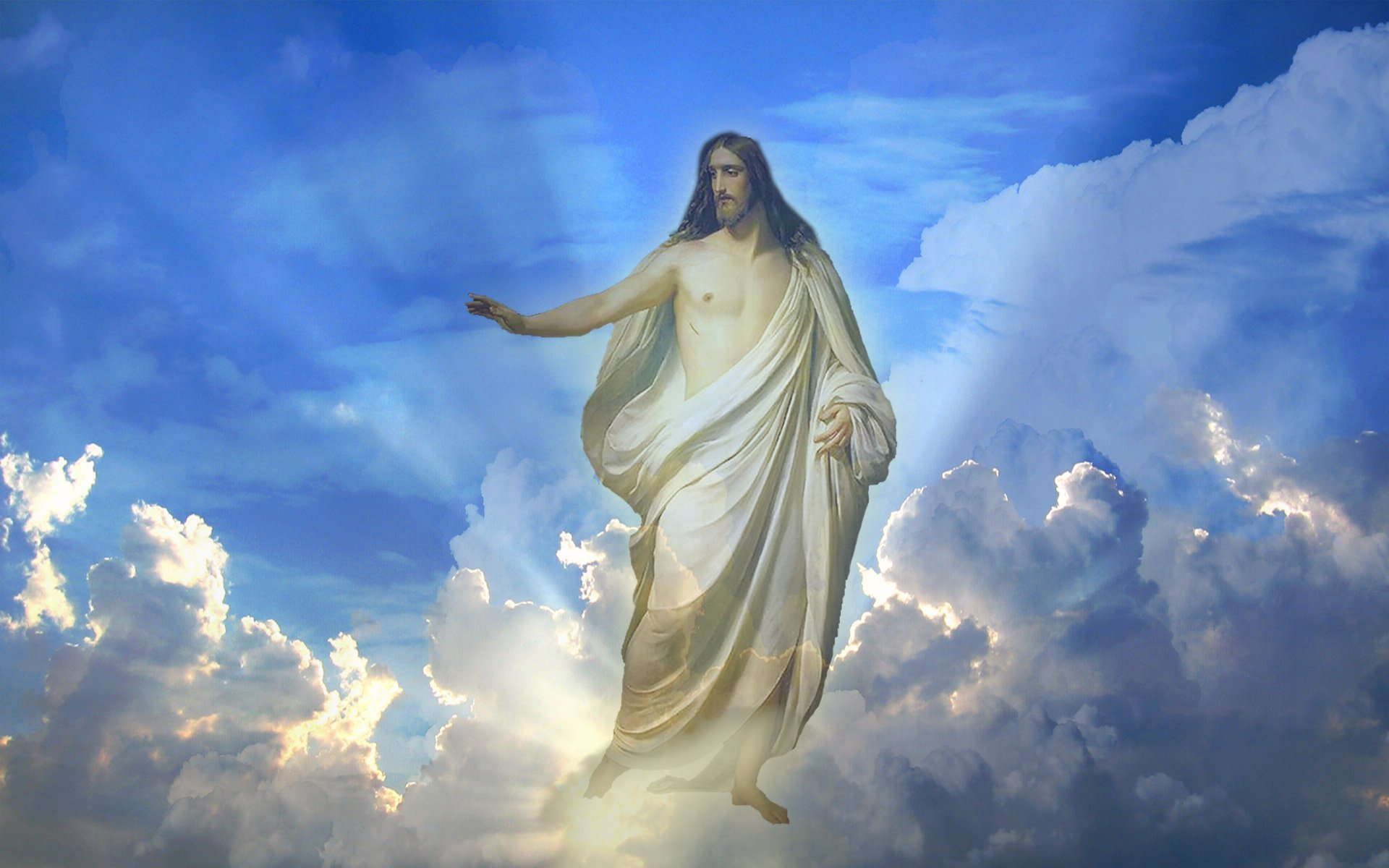Jesus Wallpapers Images HD sky