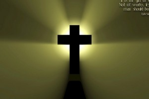 Jesus Wallpapers Images HD cross green background