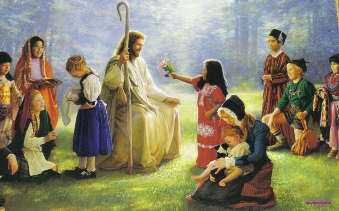 Jesus Wallpapers Images HD kids