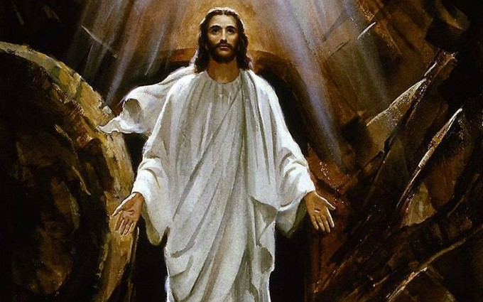 Jesus Wallpapers Images HD white dress