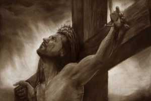 Jesus Wallpapers Images HD crucified sketch