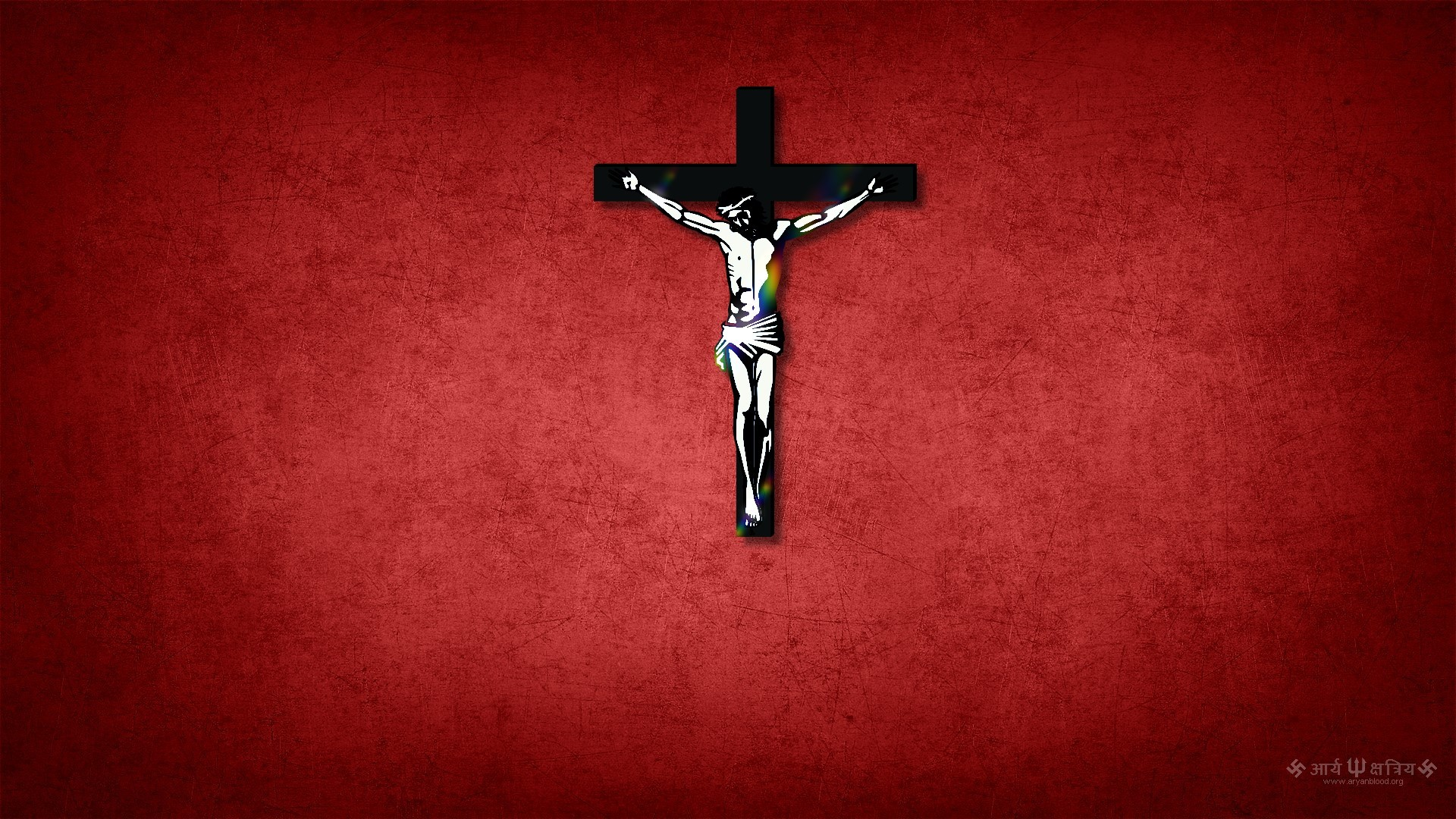 Jesus Wallpapers Images HD crucified red background