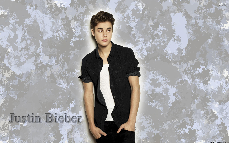 Justin Bieber wallpapers black shirt