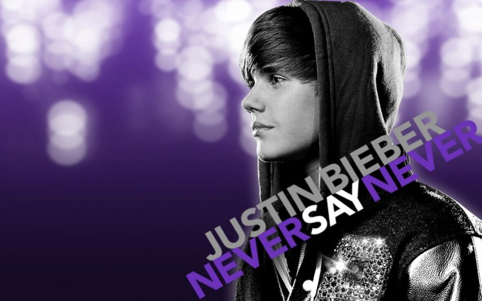 Justin Bieber wallpapers never say never