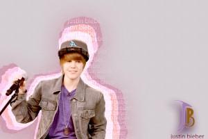 Justin Bieber wallpapers purple t shirt