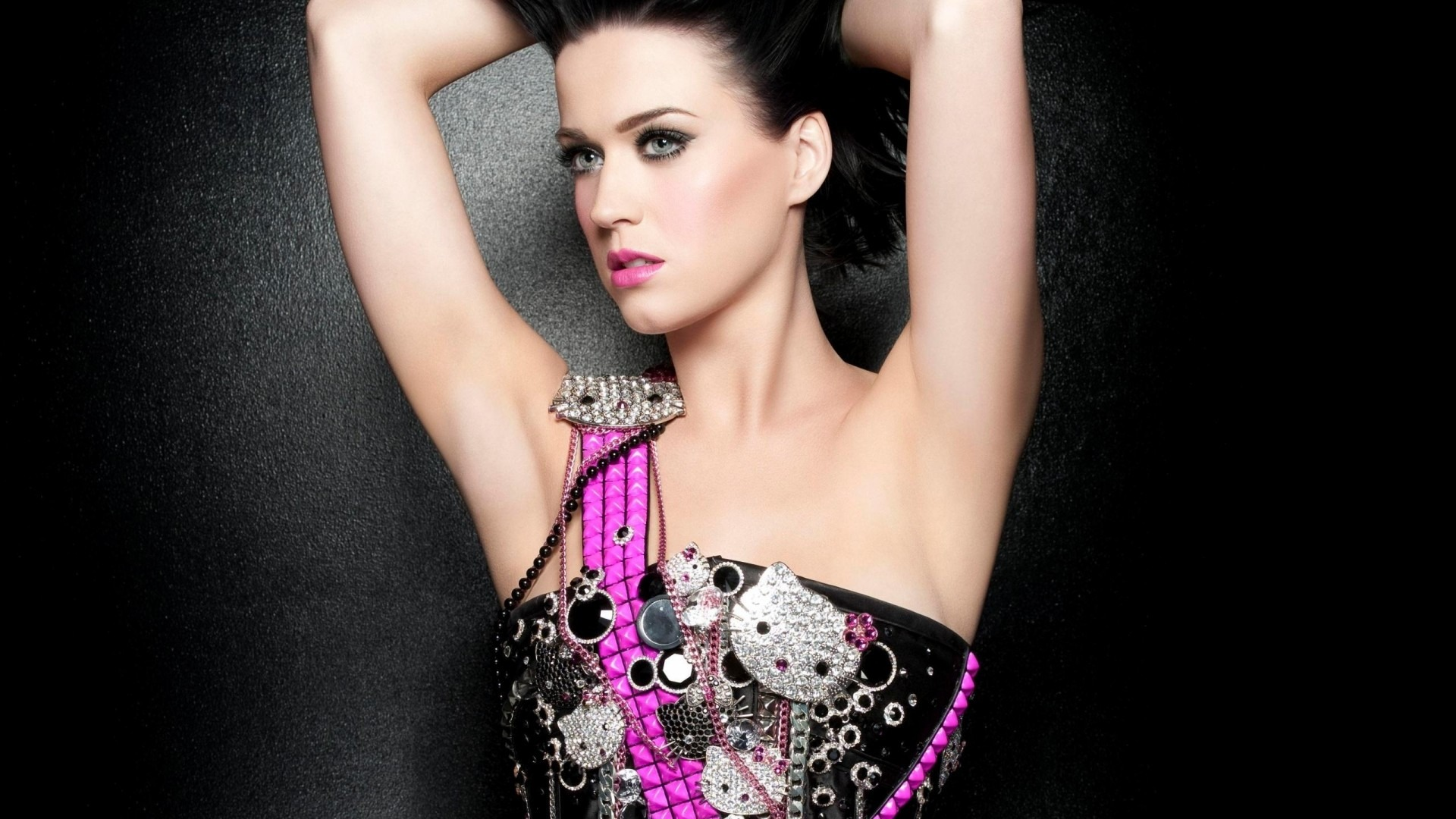 Katy Perry Wallpaper  stylish purple