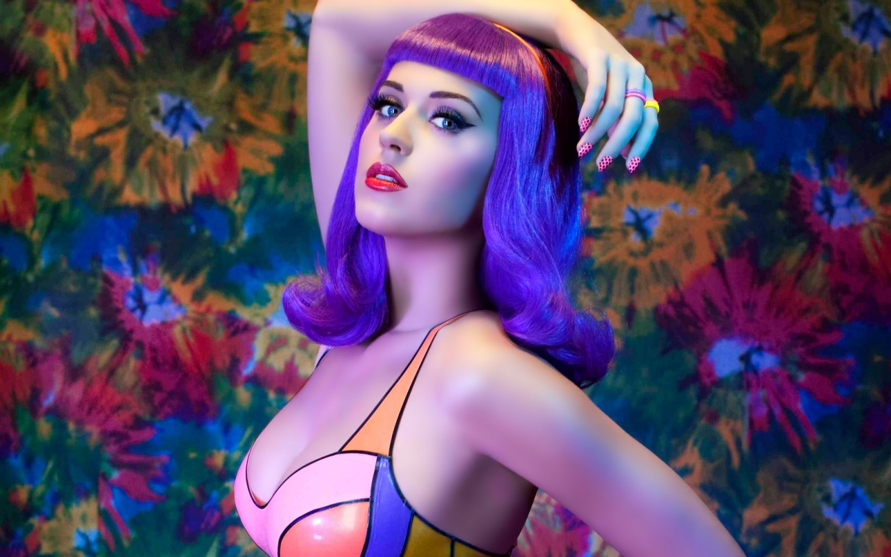 Katy Perry Wallpaper colorful