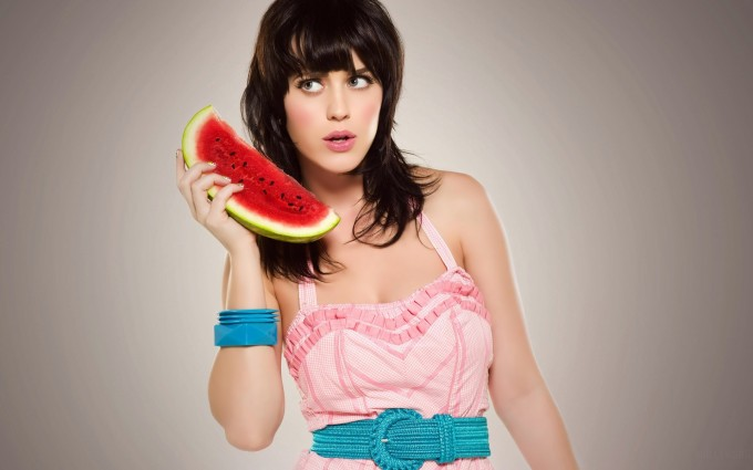 Katy Perry Wallpaper watermelon phone