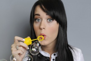 Katy Perry Wallpaper bubbles