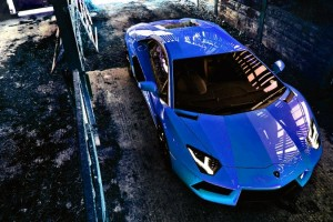 Lamborghini Aventador Wallpapers HD A23 Blue - lamborghini aventador desktop sports cars, race cars, luxury cars, expensive cars, wallpapers pictures images free download
