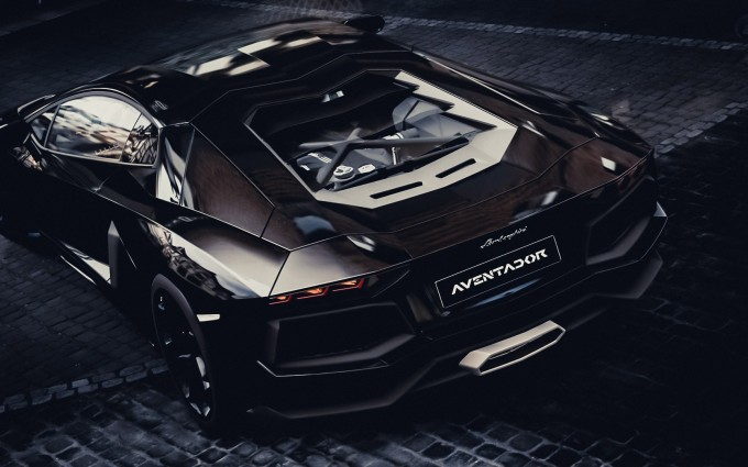 Lamborghini Aventador Wallpapers HD A31 Black - lamborghini aventador desktop sports cars, race cars, luxury cars, expensive cars, wallpapers pictures images free download