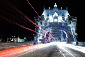 London Wallpapers HD lights bridge2
