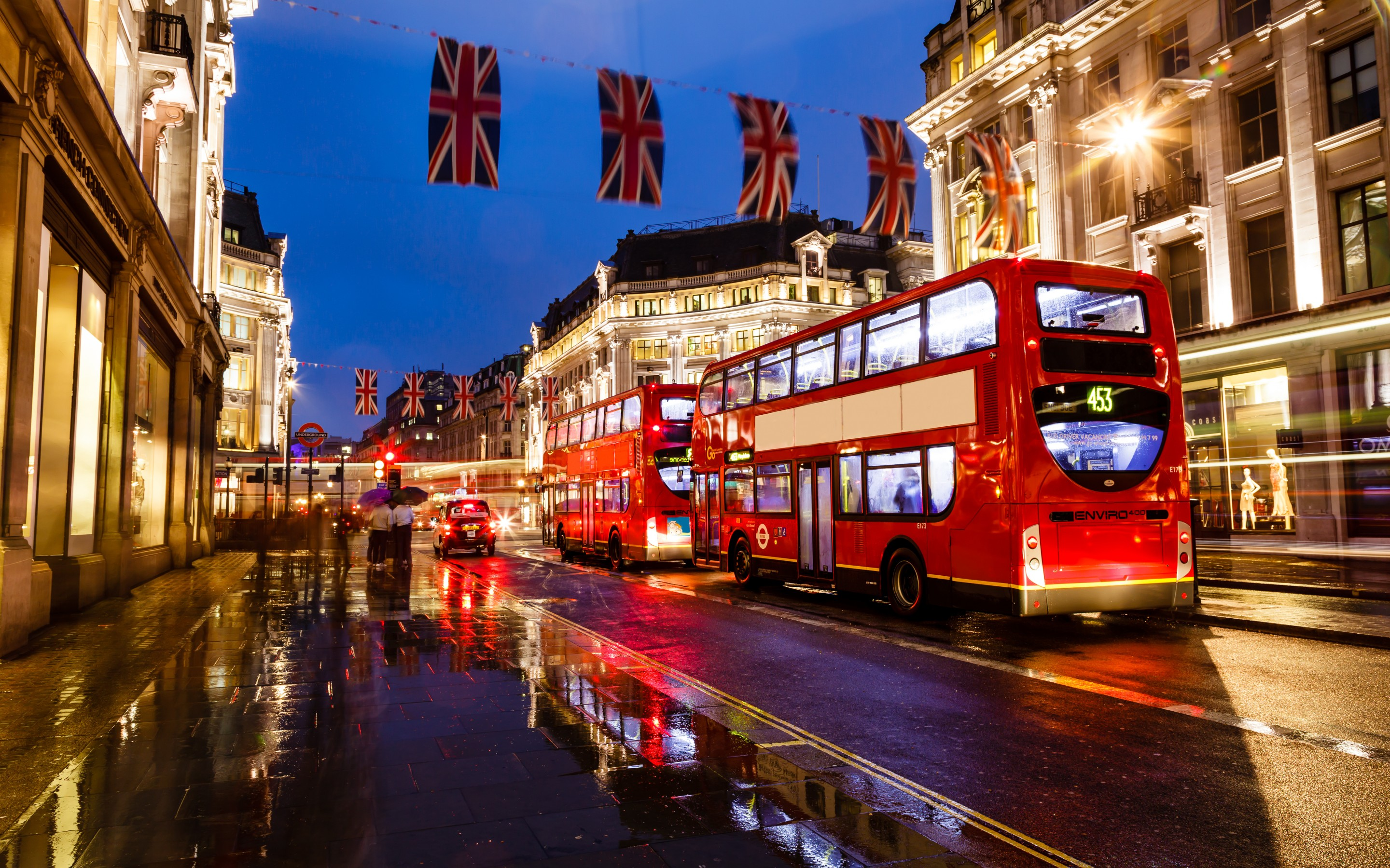 London Wallpapers HD BUS Red