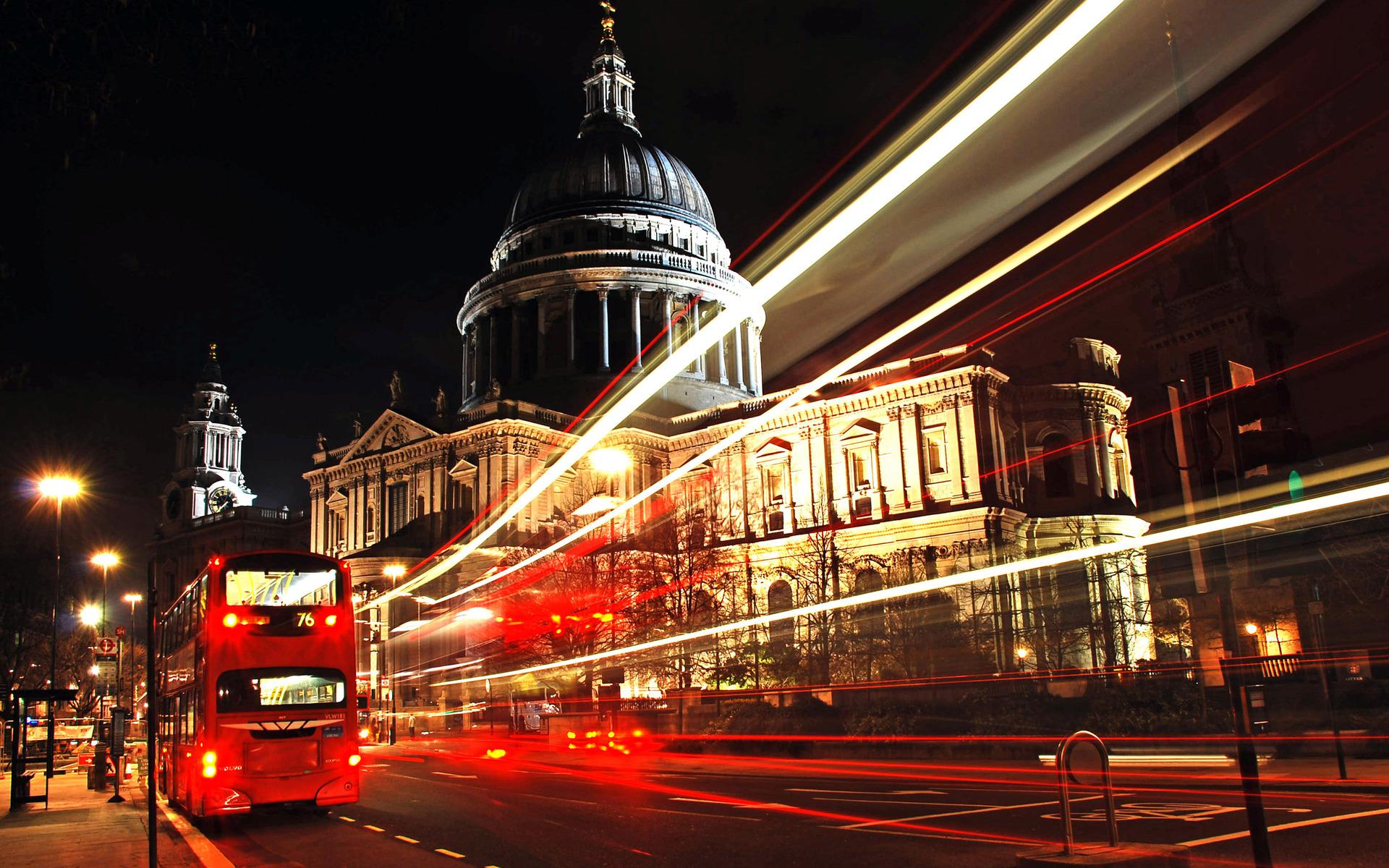 London Wallpapers HD road bus