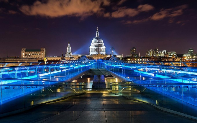 London Wallpapers HD blue