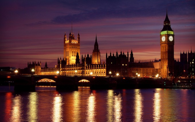 London Wallpapers HD clock