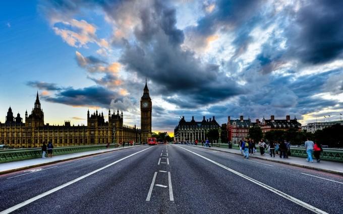 London Wallpapers HD road
