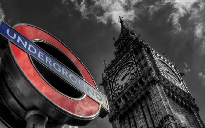 London Wallpapers HD sign board