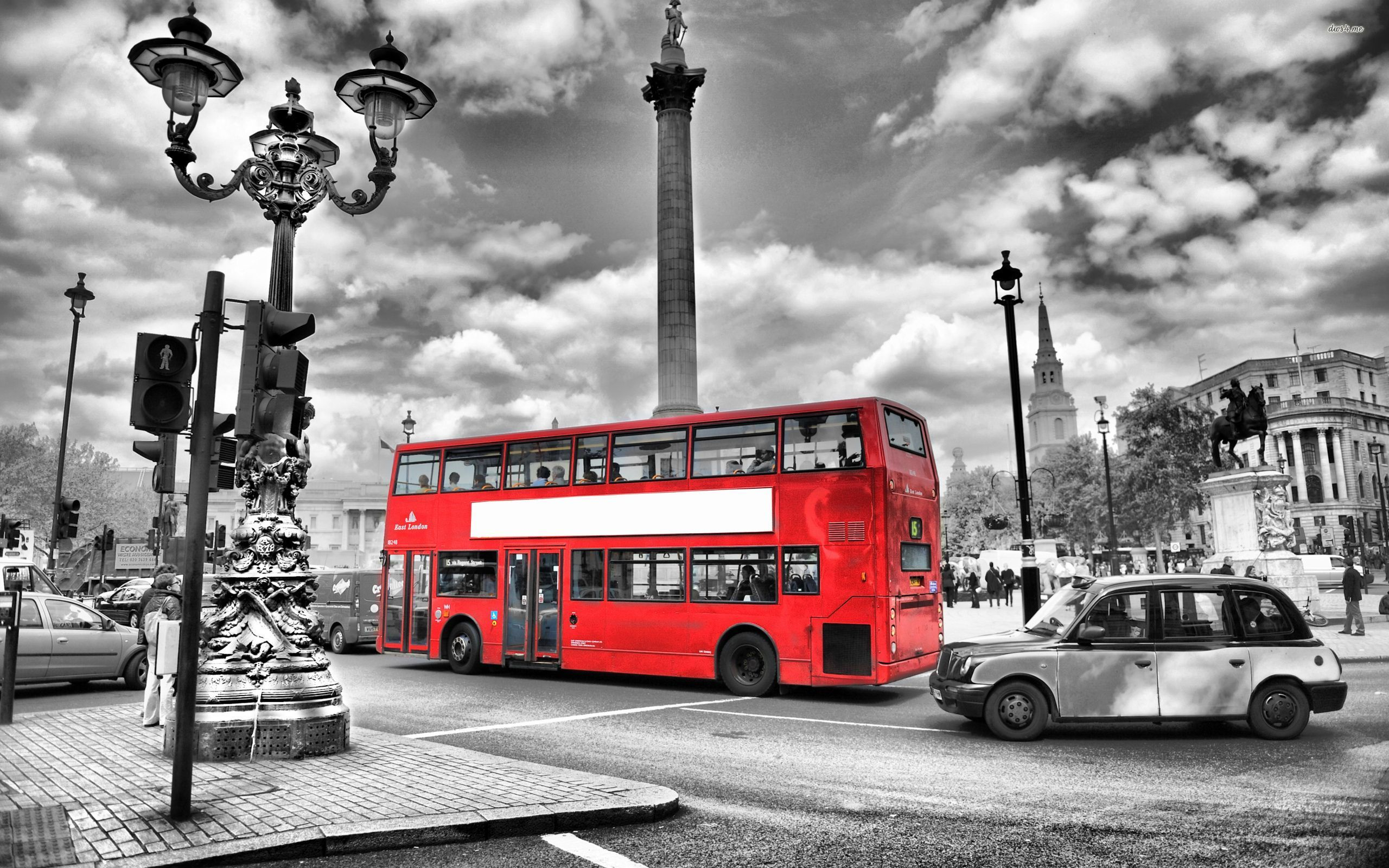 London Wallpapers HD bus red nice