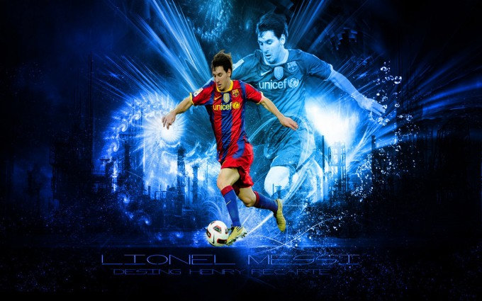 Messi Wallpaper shoot