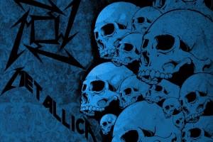metallica wallpaper skull