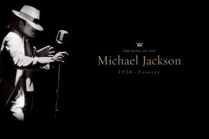Michael Jackson Wallpapers HD golden font
