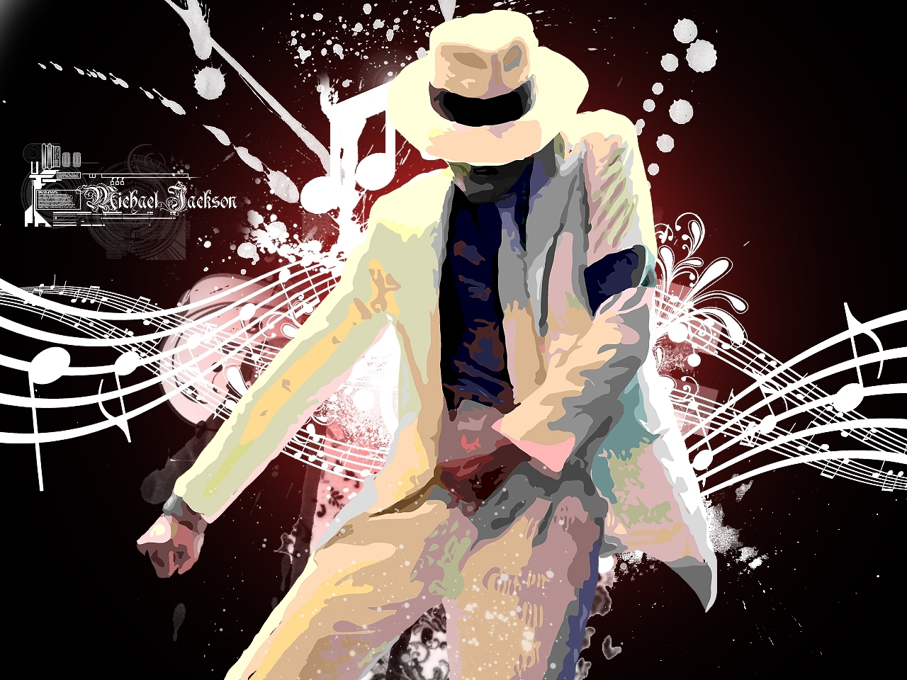 Michael Jackson Wallpapers HD white hat