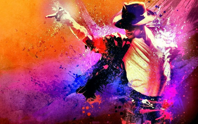 Michael Jackson Wallpapers HD colorful
